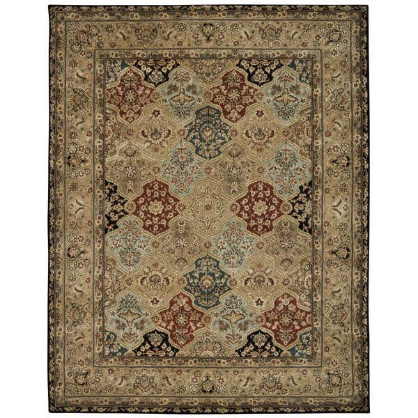 Hand Woven Wool Brown Indoor Area Rug by Nourison