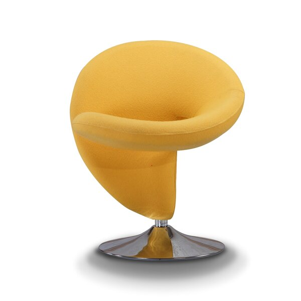 Herkimer Swivel Lounge Chair by Orren Ellis Orren Ellis
