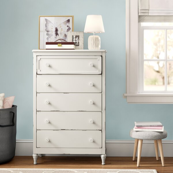 Derlyum 5 Drawer Chest by Grovelane Teen