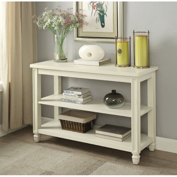 Alcott Hill White Console Tables