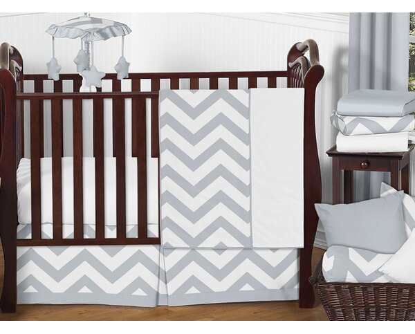 Chevron 11 Piece Crib Bedding Set by Sweet Jojo Designs