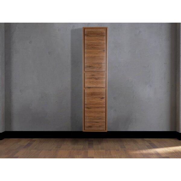 Goldstein Sage Side 15.75 W x 66.9 H Linen Storage Tower