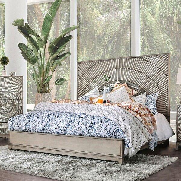 Rhianna Radiating Sunburst Pattern Standard Bed by Bay Isle Home