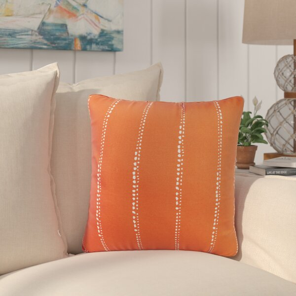 Balentine Dot Striped Indoor/ Outdoor Throw Pillow (Set of 2) by Wade Logan