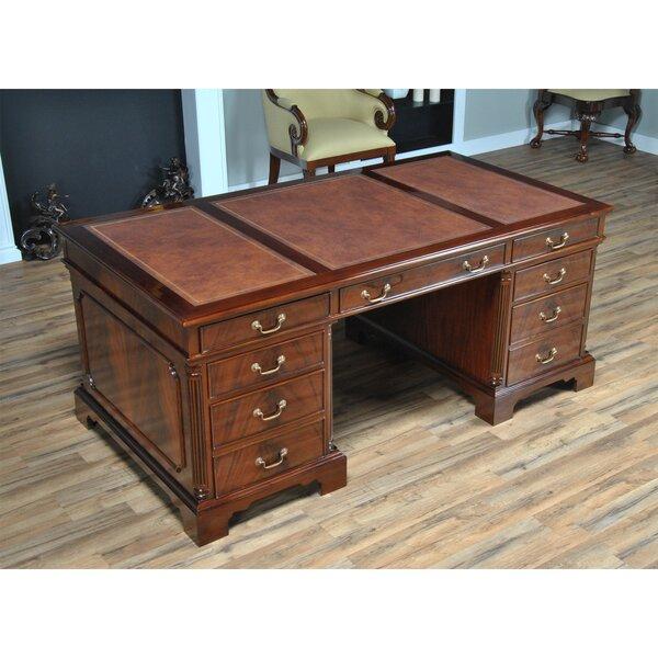 Kleinschmidt Solid Wood Executive Desk