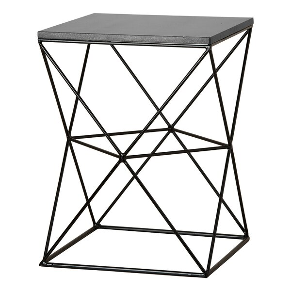 Dunstan Accent Stool by Ivy Bronx