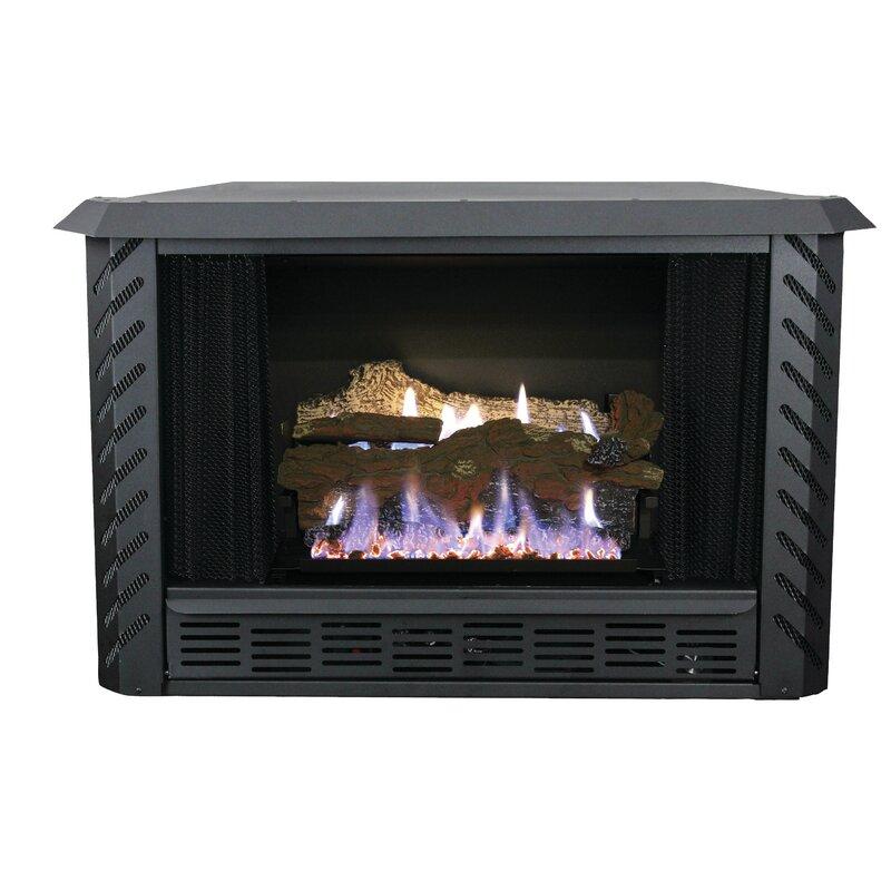 Ashley Hearth Vent Free Natural Gas Fireplace Insert Wayfair