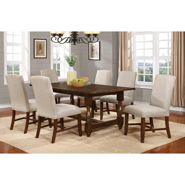 Hoover 7 Piece Solid Wood Dining Set by BestMasterFurniture