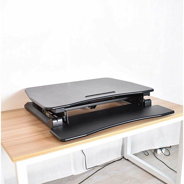 Kellum Sit to Stand Tabletop Workstation Standing Desk Converter