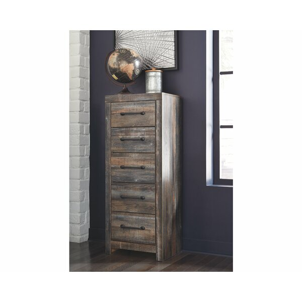 Lulsgate Narrow 5 Drawer Chest by Millwood Pines
