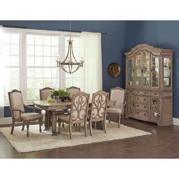 #2 George 7 Piece Dining Set By One Allium Way 2019 Sale