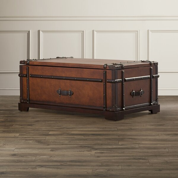 Jeffries Coffee Table with Storage by 17 Stories