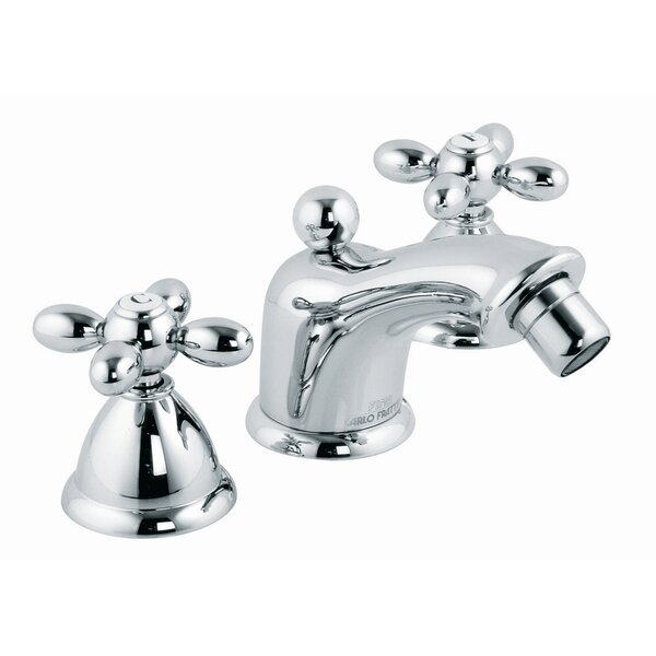 Olivia Double Handle Horizontal Spray Bidet Faucet by Fima by Nameeks