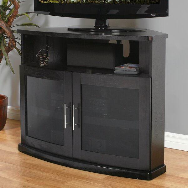 Leasure Solid Wood TV Stand For TVs Up To 48