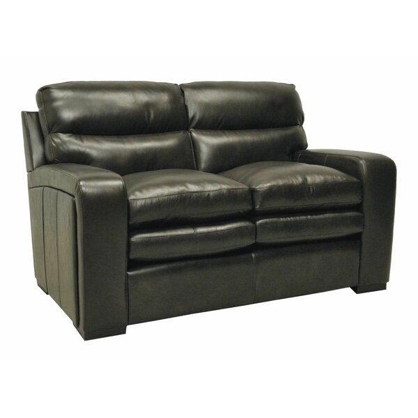 Leather Loveseat by Wildon Home®