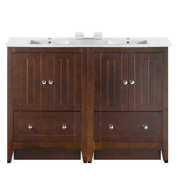 48 Double Bathroom Vanity Set by Longshore Tides