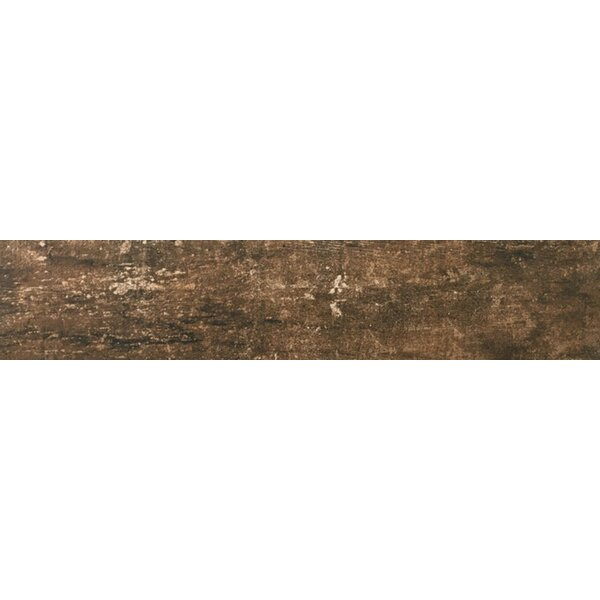 Ranch 8 x 35 Porcelain Wood Look Tile in Pasture by Emser Tile