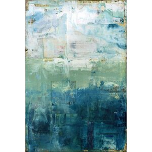 'Coastal' Oil Painting Print on Wrapped Canvas by Highland Dunes