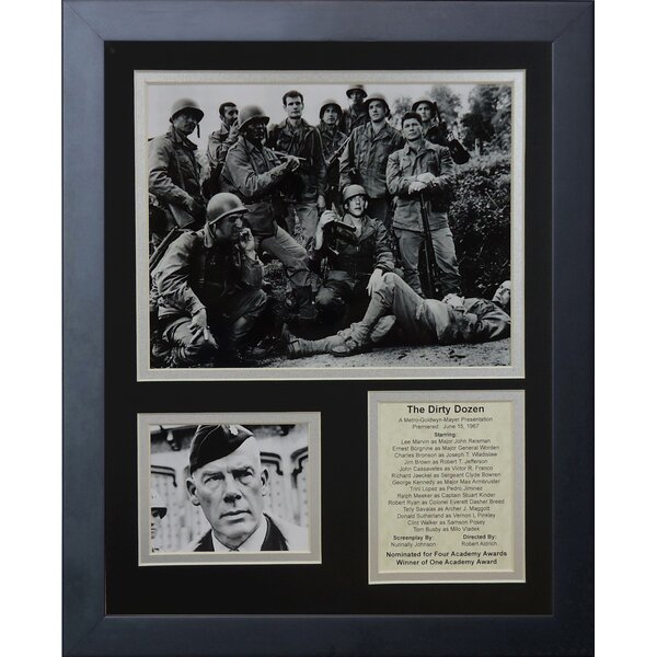 The Dirty Dozen Framed Memorabilia by Legends Never Die