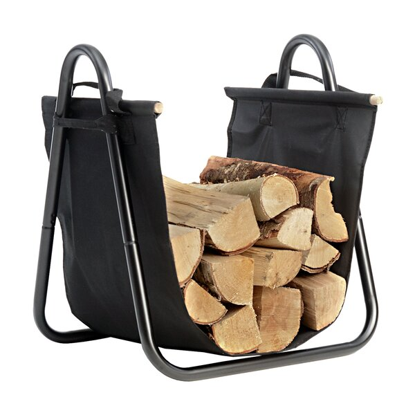 Log Holder With Canvas Carrier By ShelterLogic