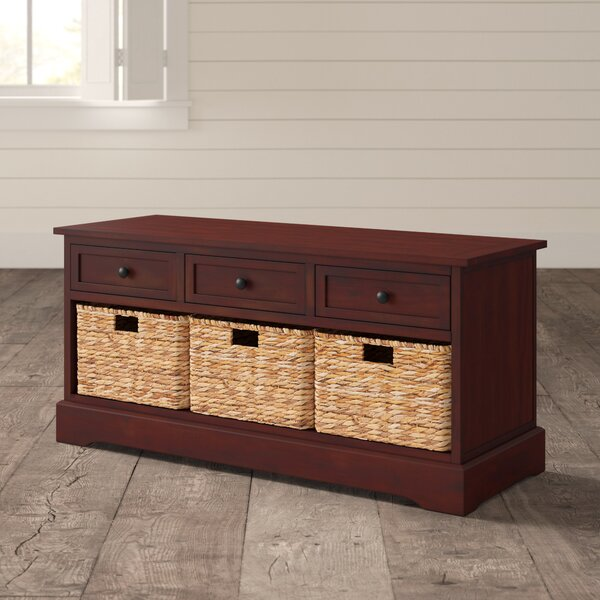 Ottilie Wood Storage Bench by Andover Mills Andover Mills