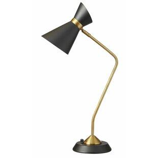 Mid century modern table lamps youll love wayfair hudson 265 desk lamp aloadofball Images