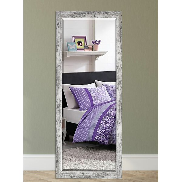 Wood Weathered Farmhouse Accent Wall Mirror by August Grove