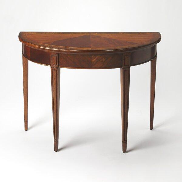 Cherry Nouveau Demilune Console Table by Butler Butler