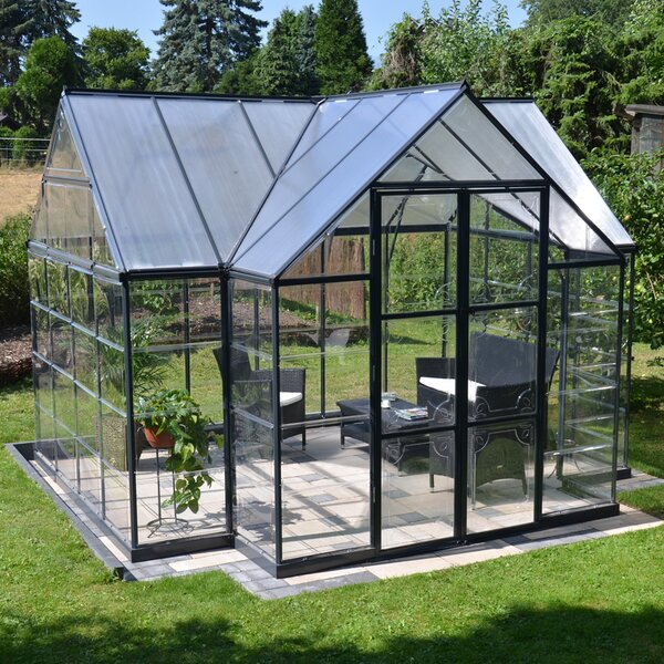 Chalet 12 Ft. W. x 10 Ft. D Greenhouse by Palram