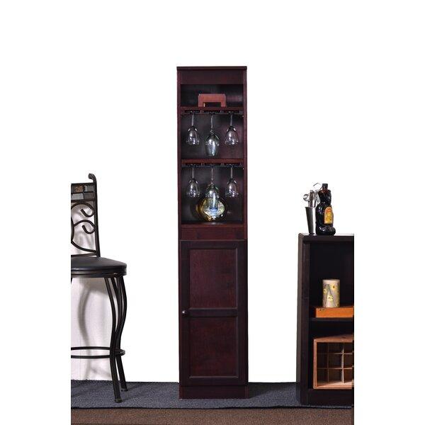 Suzi 21 Bottle Floor Wine Cabinet by Charlton Home Charlton Home