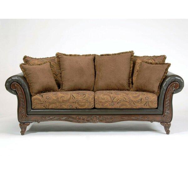 Oswego Espresso Sofa by Astoria Grand