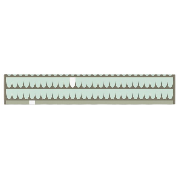 Pellerina Design Scallops Table Runner by East Urban Home