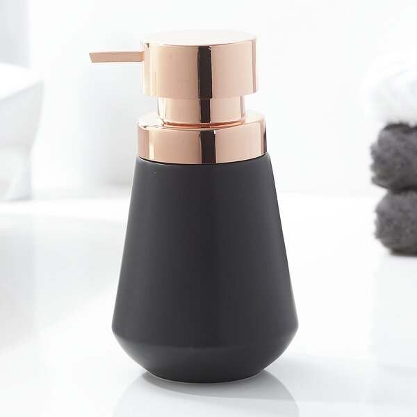 Si Countertop Soap and Lotion Dispenser by Everly Quinn