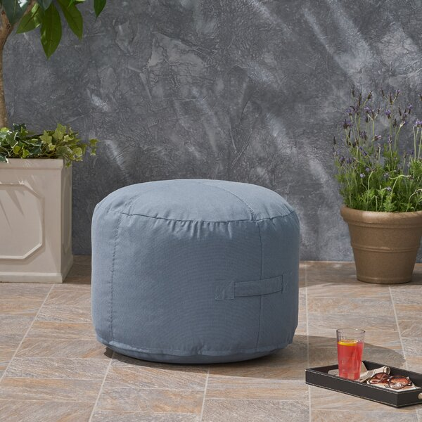 Darrion Outdoor Ottoman With Cushion By Bay Isle Home by Bay Isle Home Fresh