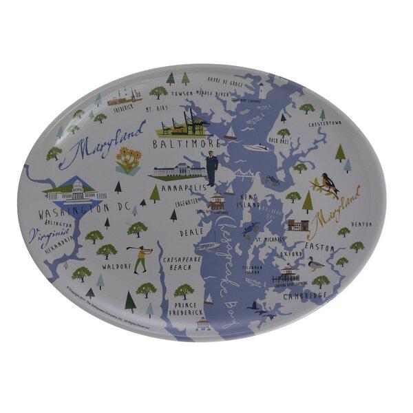 Opal Bay Melamine Platter by Winston Porter