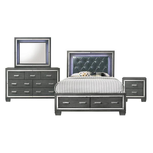Anthea Platform 4 Piece Bedroom Set by House of Hampton