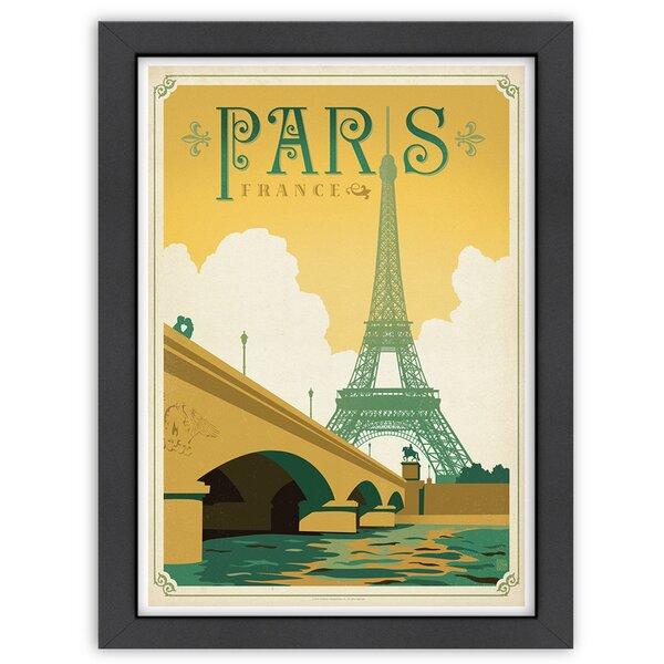 Paris, France Framed Vintage Advertisement by East Urban Home