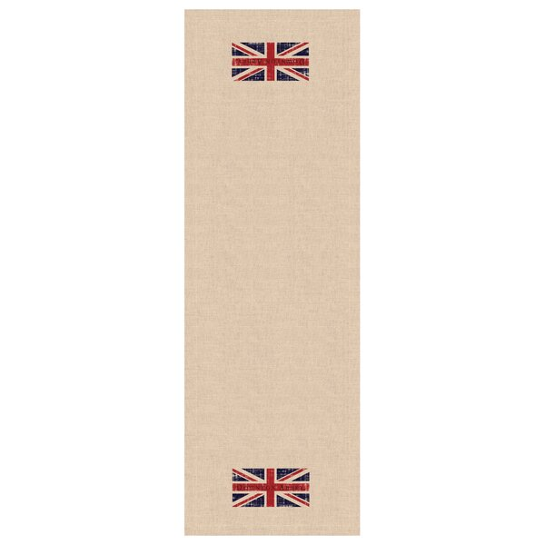 Downton Abbey Union Jack Table Runner by Heritage Lace