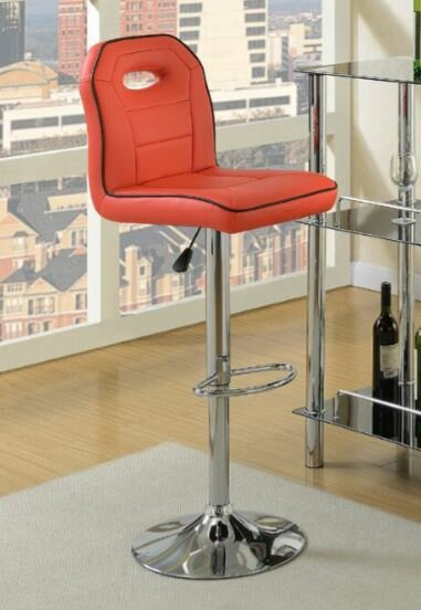 Hershman Adjustable Height Bar Stool by Orren Ellis