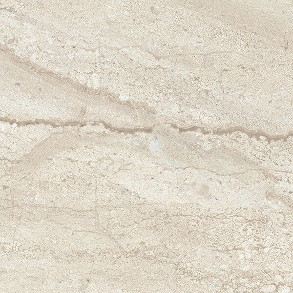Versailles 13 x 13 Porcelain Field Tile in Trianon Creme by Interceramic