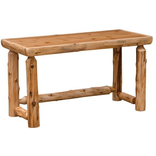 Cedar Simplified Open Writing Desk by Fireside Lodge