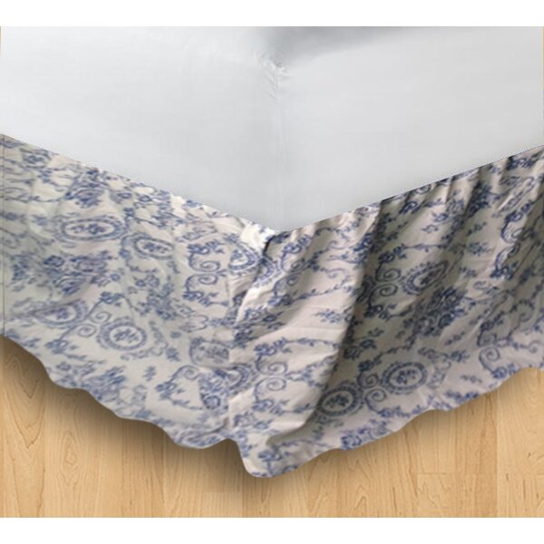 Wisteria Lattice Bed Skirt by Patch Magic