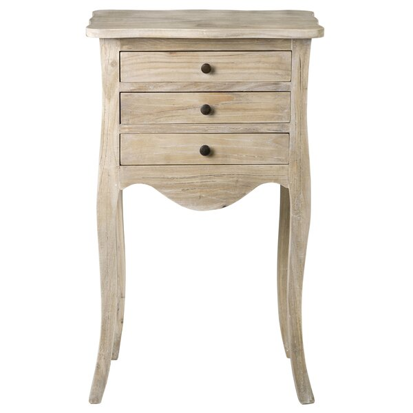 Steinbeck End Table With Storage By August Grove