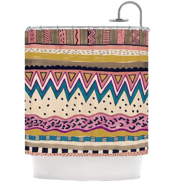 Koko Shower Curtain by KESS InHouse