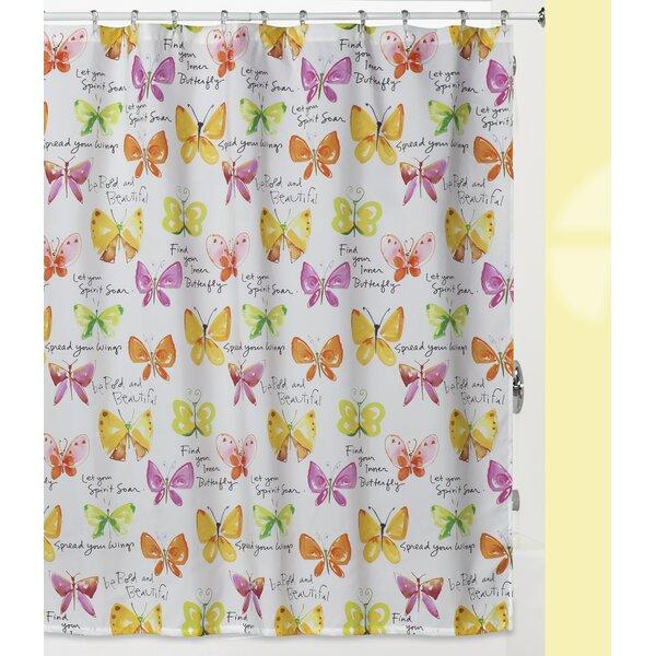 Herzberg Shower Curtain by Zoomie Kids