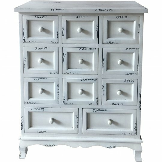 Wagner Wooden 11 Drawer Accent Chest by One Allium Way One Allium Way