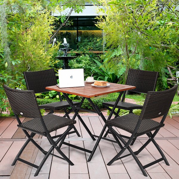Kristine 5 Piece Dining Set by Bay Isle Home