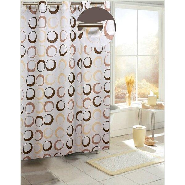 Zipcode Design Angie Circles Shower Curtain & Reviews | Wayfair