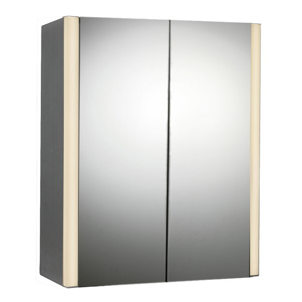 27 x 33 Surface Mount Medicine Cabinet with LED Lighting by Rebrilliant