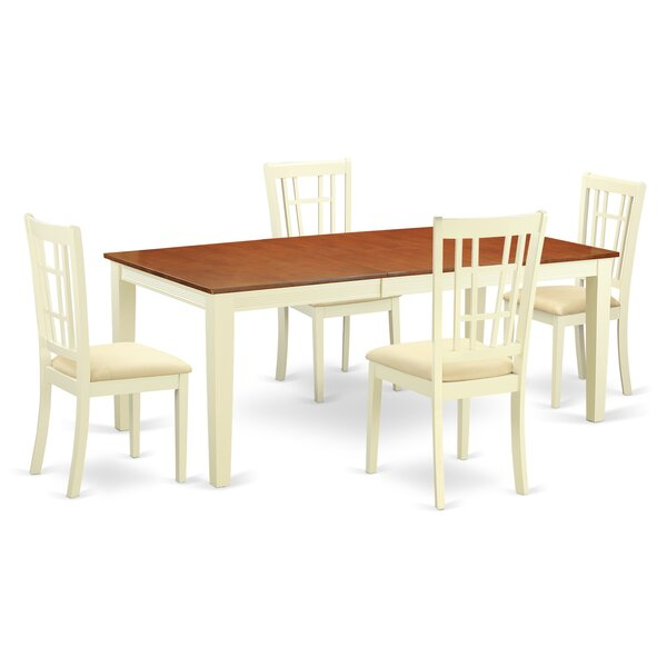 Pilger 5 Piece Dining Set by August Grove